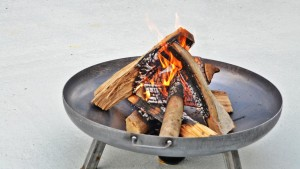 feuerstelle, grillcatering